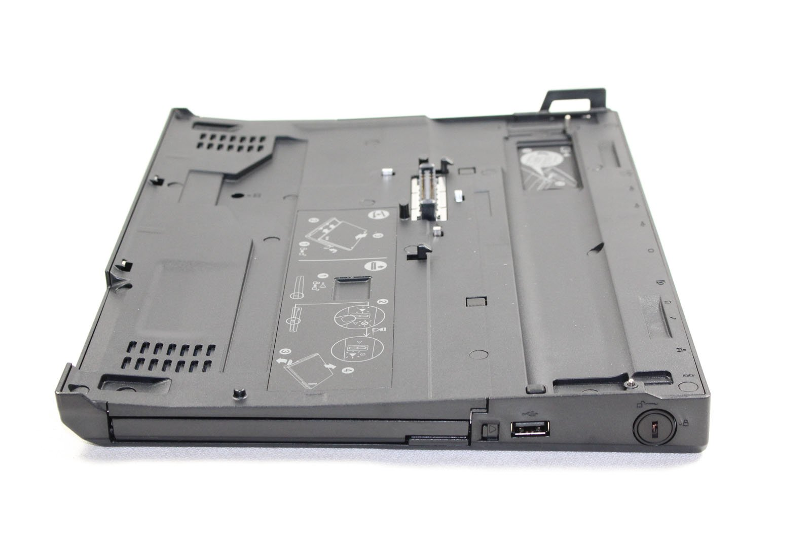 43R8781 - Lenovo ThinkPad X200 UltraBase Docking station Network, USB, Display/Video, VGA, Microphone, Headphone, Stereo, Docking/Port Replicator by Lenovo Group Limited (Image #5)
