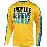 Troy Lee Designs GP Yamaha MX Offroad Jersey Black//Cyan