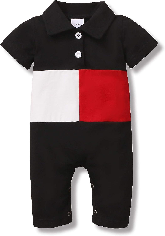 veikimous Newborn Baby Boy Romper Infant Clothes Boys Onesie Bodysuit Cotton Jumpsuit One Pieces Baby Clothes Boy