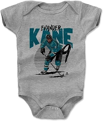 Evander Kane Rise 3-24 Months 500 LEVEL Evander Kane San Jose Hockey Baby Clothes /& Onesie