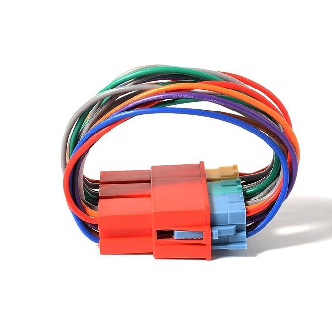 3 opinioni per XCSOURCE Car Audio 8-pin 20-pin adattatore Mini ISO connettore del cavo MP3