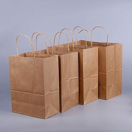 Bolsa de papel kraft, respetuosa con el medio ambiente ...