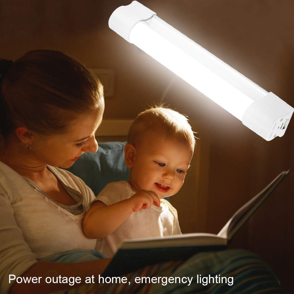 Fdit Lampes de Travail Portable lumi/ères USB Rechargeable Camping Urgence LED Lampe int/érieur /éclairage de randonn/ée Usage ext/érieur 3/Niveaux de Blackout