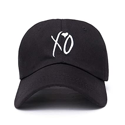 Amazon.com: HOMES1 Fashion Adjustable XO hat The Weeknd Snapback Hats for Men Women Brand Hip hop dad caps Sun Street Skateboard Casquette Cap Black: Home & ...