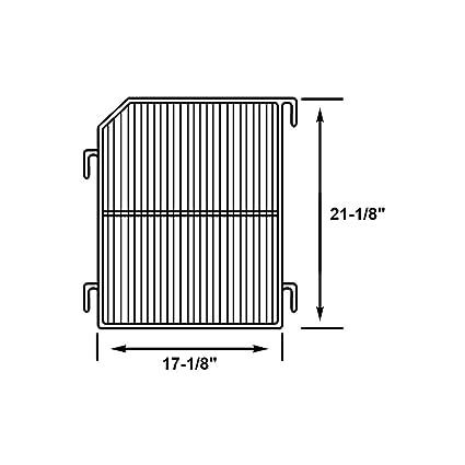 amazon com perlick c8485 1 refrigerator wire shelf with grey epoxy rh amazon com