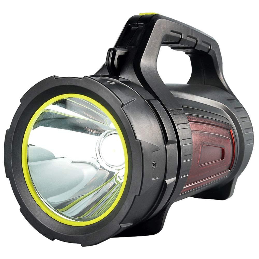 ZM Flashlight Outdoor-Glare-Scheinwerfer ABS Multifunktions-Camping Wasserdichte tragbare Taschenlampe