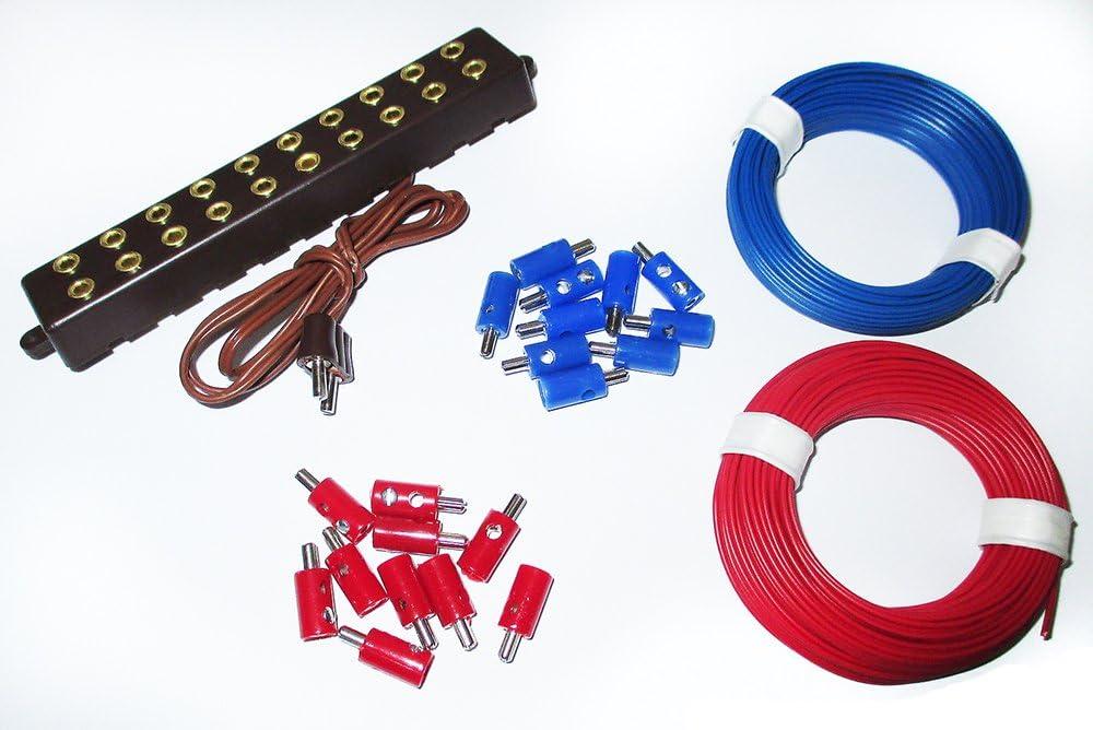 Stecker 2,6mm Litzen und Verteilerplatte mit Stecker  ---NEU