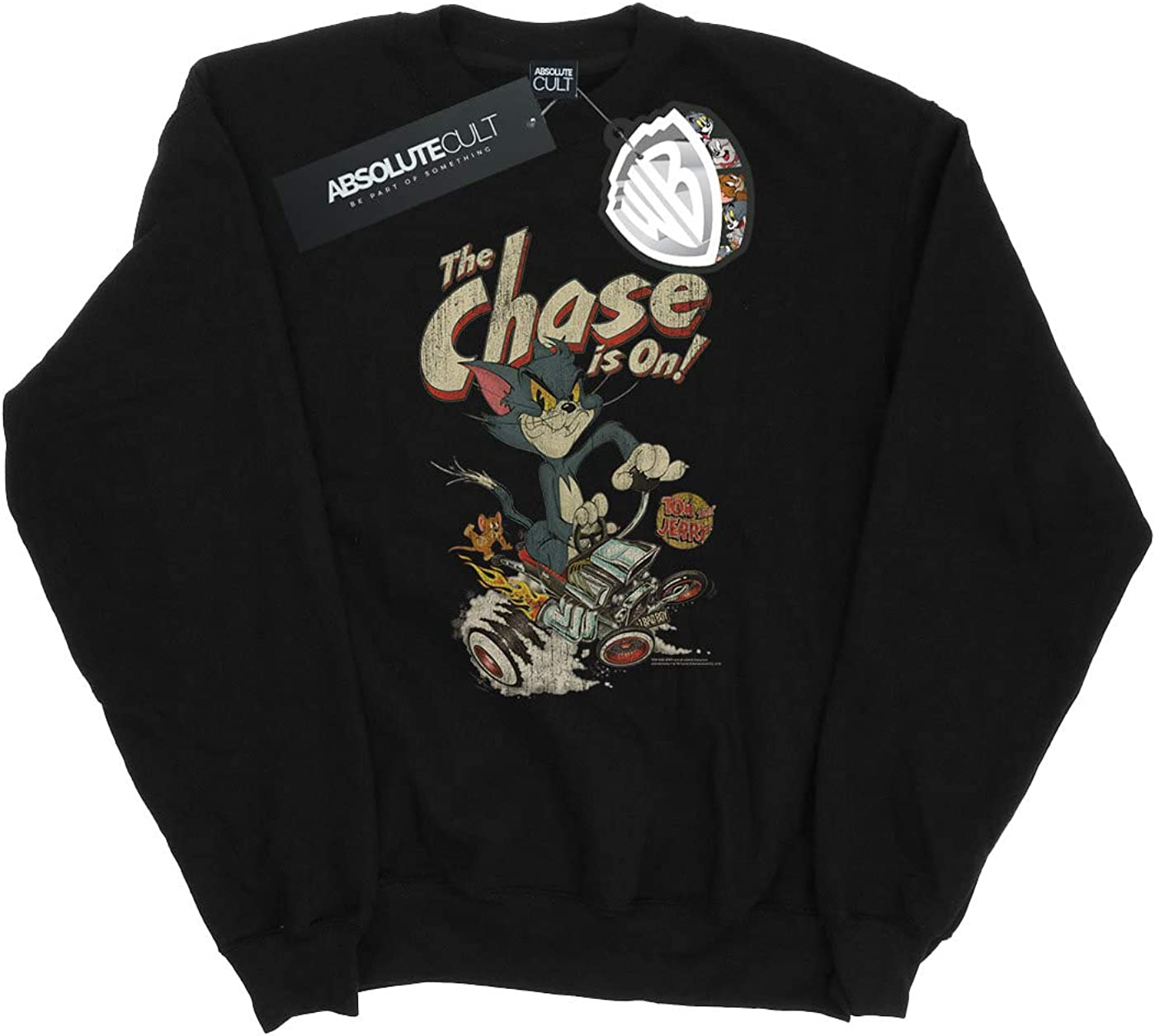 Tom and Jerry Girls The Chase is On Sweatshirt
