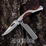 Elk Ridge Portable Tactical Folding Pocket Knife 2-iCareYou Blade Gentleman Razor Review