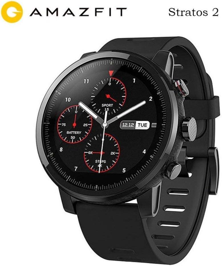 Huami Amazfit Smartwatch Versión internacional Original Reloj en ejecución GPS Chip Bluetooth 4.2 Anti-perdida para teléfonos iOS Android