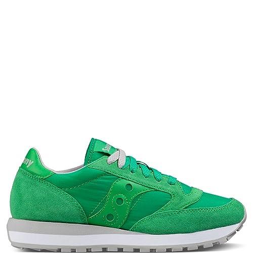 Saucony Jazz Original W, Zapatillas para Mujer, Verde, 36 EU