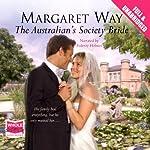 The Australian's Society Bride | Margaret Way