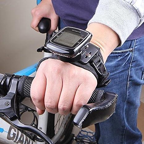 Poseidon Gps Halter Adapter Mit Glove Style Handgelenk Hand Strap Mount Für Garmin Edge Cycle Gps 25 200 500 510 520 800 810 1000 Auto