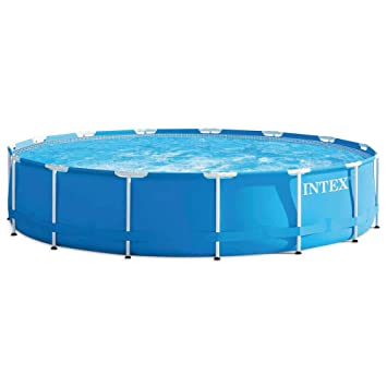 Intex - Piscina desmontable Intex metal frame 457x84 cm - 11.325 l - 28228NP