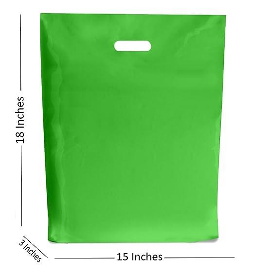 Bolsas de plástico de color verde claro/bolsa de regalo para ...