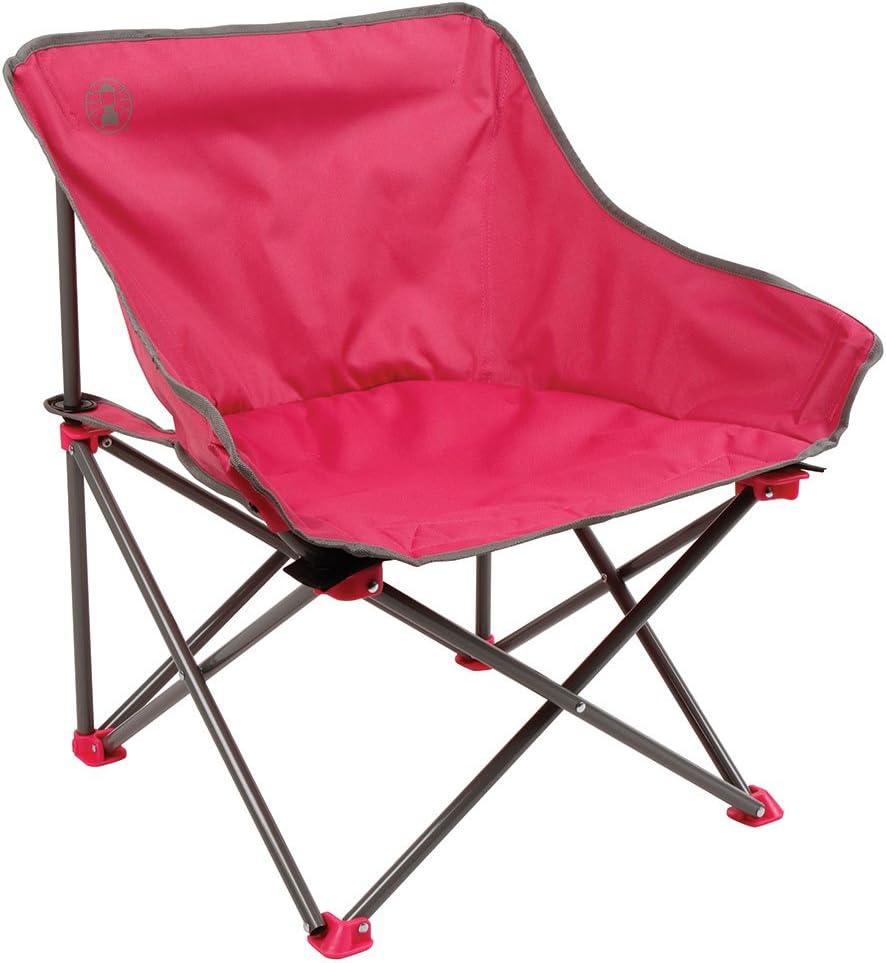 chaise pliante l/ég/ère chaise de camping avec porte-gobelet Coleman Chaise de Camping Bungee utilisation pour les festivals la p/êche et le jardin structure robuste en acier