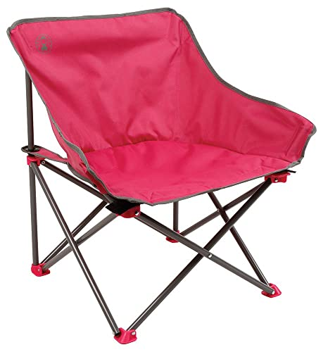 Coleman Kick Back Folding Camping Chair Rose Pink