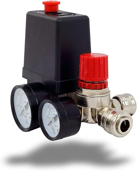 Druckregler Mit Druckschalter Für Kompressor Kompressorschalte Baumarkt