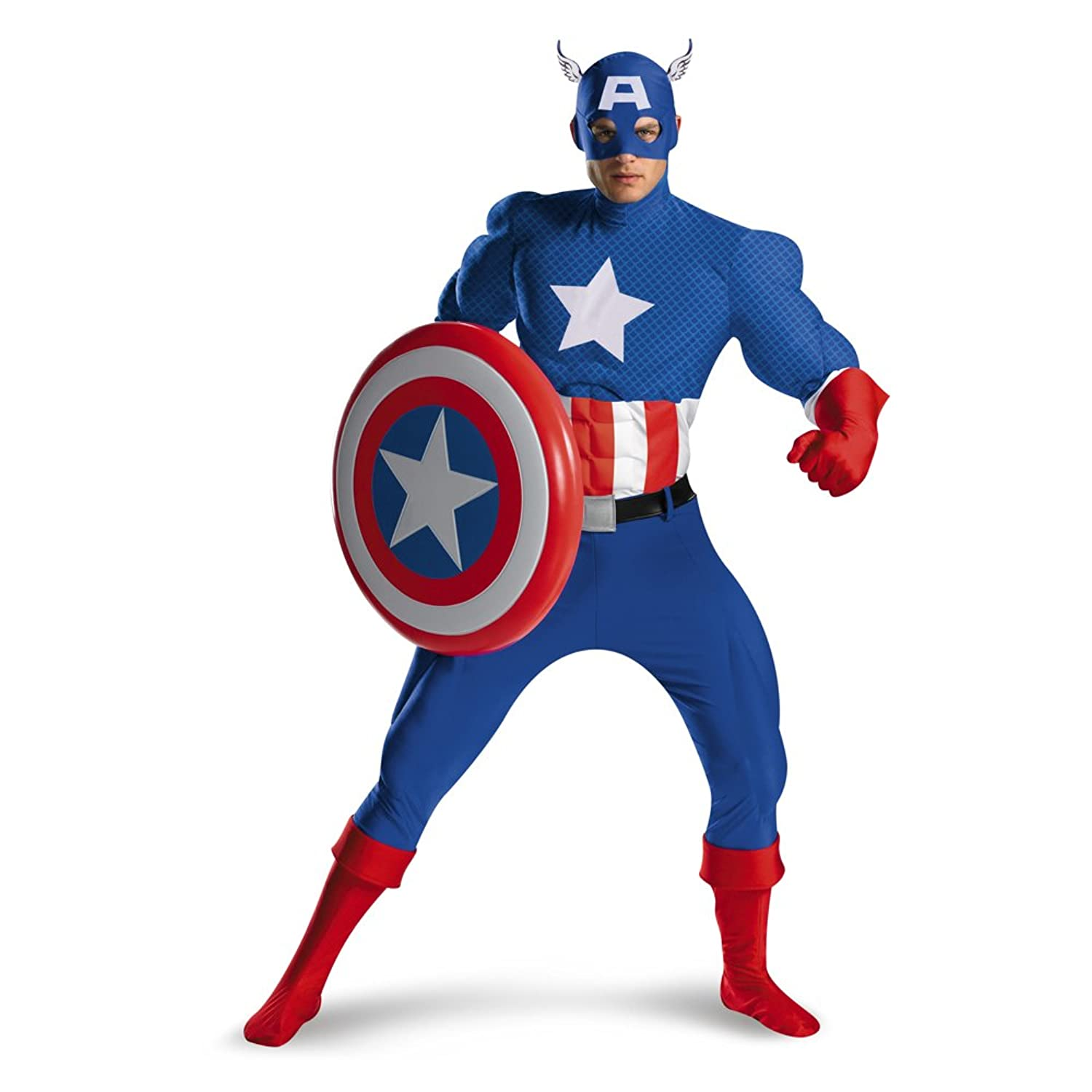 Captain America: The Avengers Halloween Costume - DeluxeAdultCostumes.com