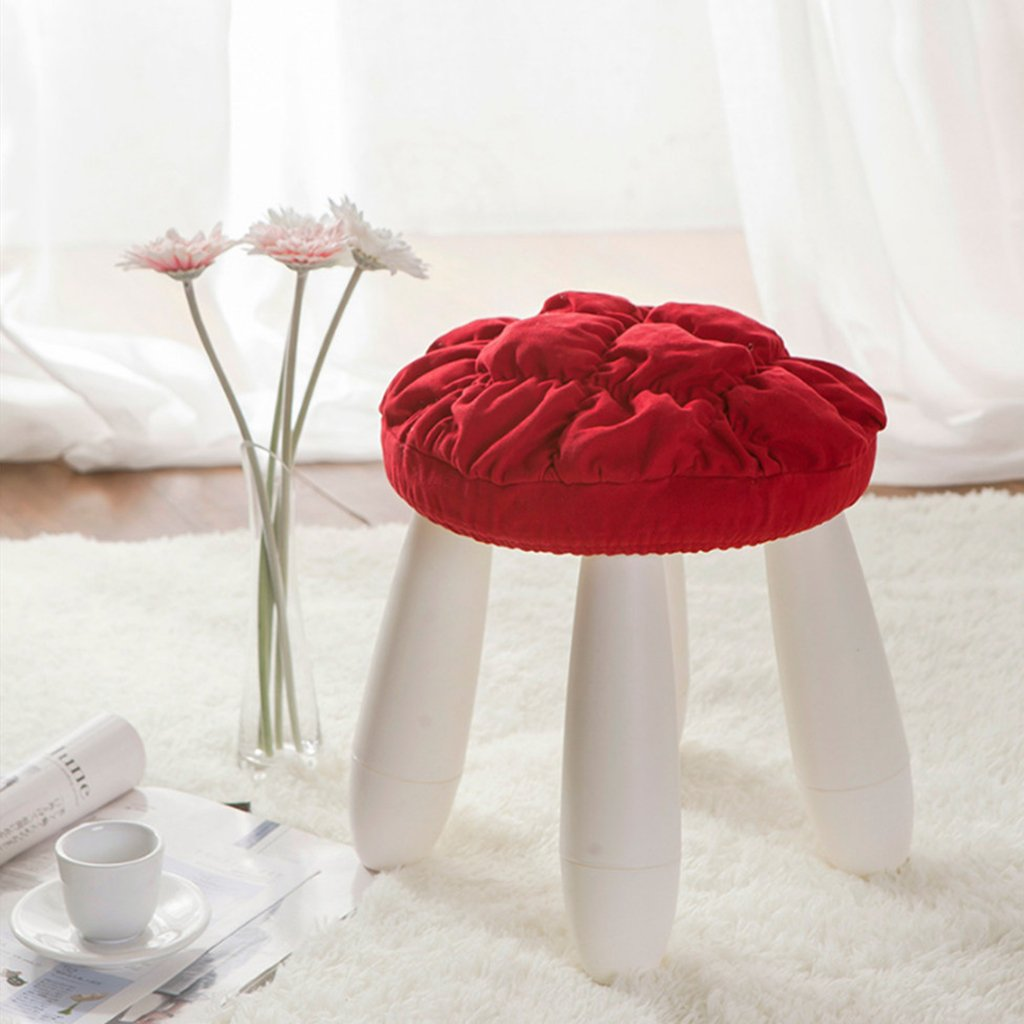 Homyl 4Pieces 11''-12'' Bar Stool Covers Round Wood Chair Seat Cover Sleeve Slipcover by Homyl (Image #4)