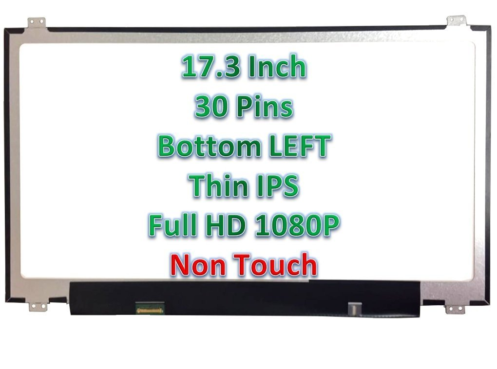 LAPTOP LCD SCREEN 17.3 Full-HD DIODE D1 SP LG PHILIPS LP173WF4 SUBSTITUTE...
