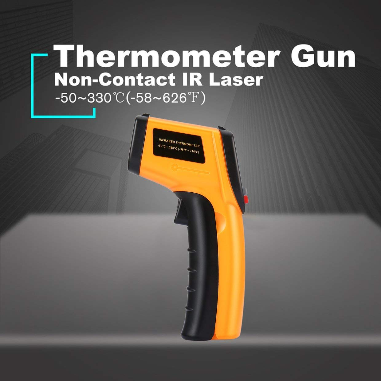 Punto L/áser MXECO sin Contacto LCD Digital term/ómetro infrarrojo IR Pistola t/érmica Infrared Imaging Temperatura Medidor Port/átil Pir/ómetro