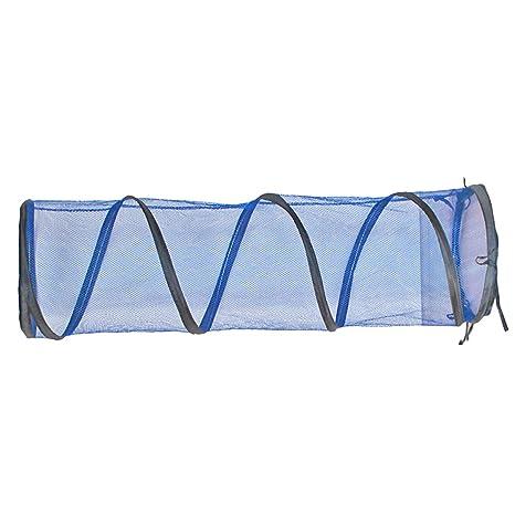 Túnel para gatos plegable juguetes para mascotas cama para gatos/conejos y perro con canal