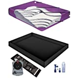 Boyd's 99% WAVELESS WATERBED Mattress/Liner/Heater/Fill Drain/Conditioner KIT (California King 72x84 TranquilSupportG1)