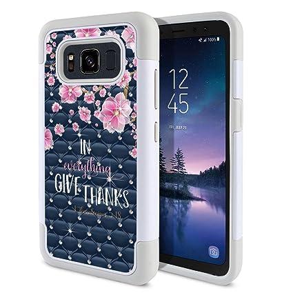Amazon.com: FINCIBO - Carcasa para Samsung Galaxy S8 Active ...