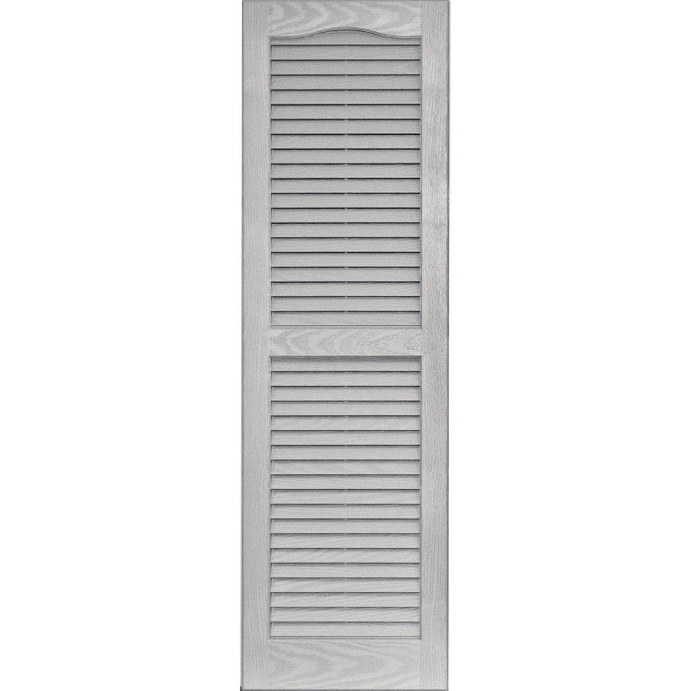 Vantage 0114047030 14X47 Louver Arch Shutter/Pair 030, Paintable The TAPCO Group - DROPSHIP