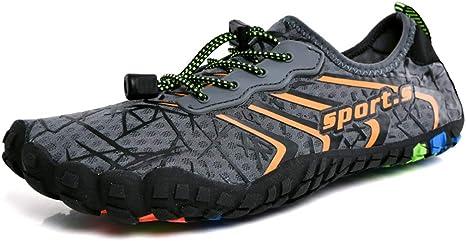 Sandalias Zapatos de Agua Zapatillas de Playa Verano Barefoot ...