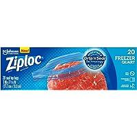 Ziploc Freezer Quart Bags, 20ct