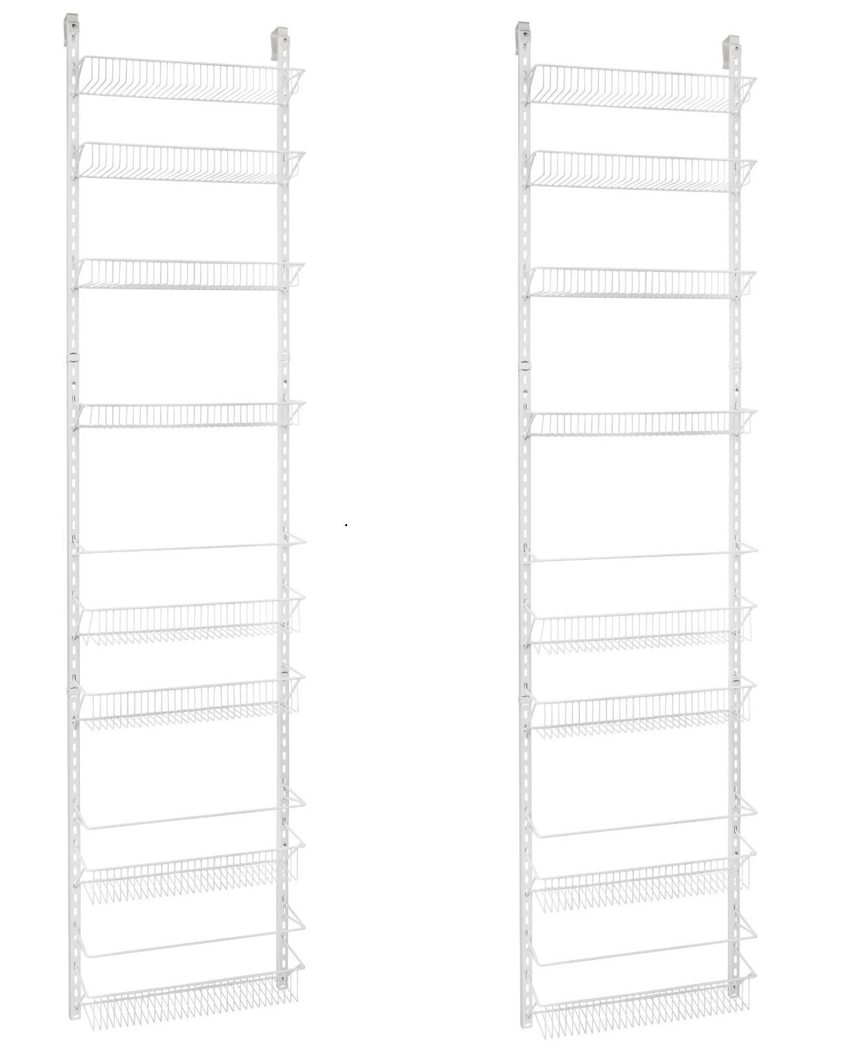 ClosetMaid 1233 Adjustable 8-Tier Wall and Door