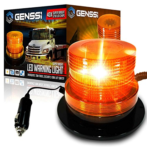 genssi-led-beacon-strobe-light-roof-tow-truck-3-function-40-smd-flashing-amber