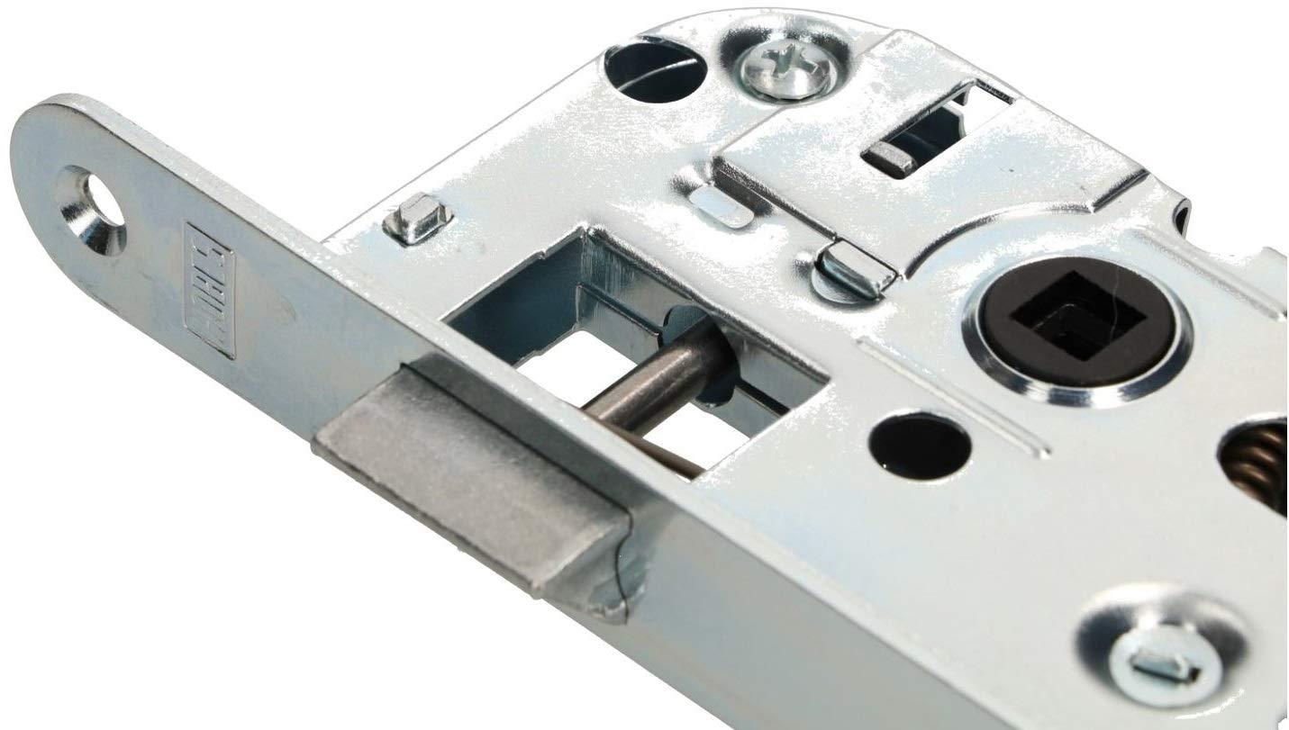 KOTARBAU Einsteckschloss 90//40 WC Bad Gegenplatte Verzinkt Universal Links//Rechts Rohrrahmenschloss Zimmert/ürschloss Innen//Au/ßen Sicherheisschloss
