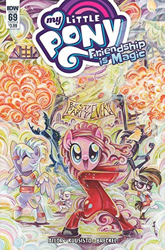 MY LITTLE PONY FRIENDSHIP IS MAGIC #69 COVER B VARIANT BY SARA RICHARD