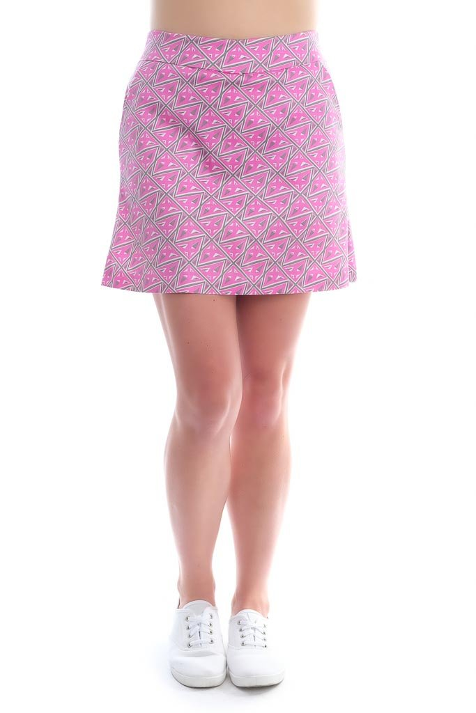 Haute Shot Classic Skort for travel, everyday, golf, ect, Breathable Comfort, Slimming fit.