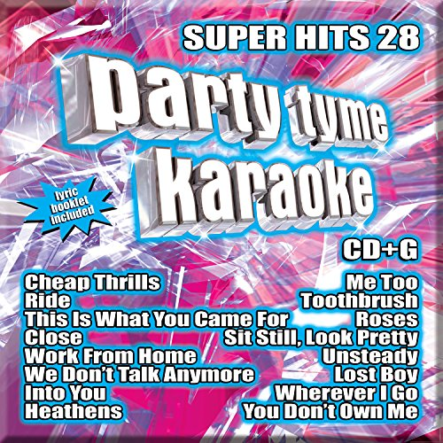- Party Tyme Karaoke - Super Hits 28 [16-song CD+G]