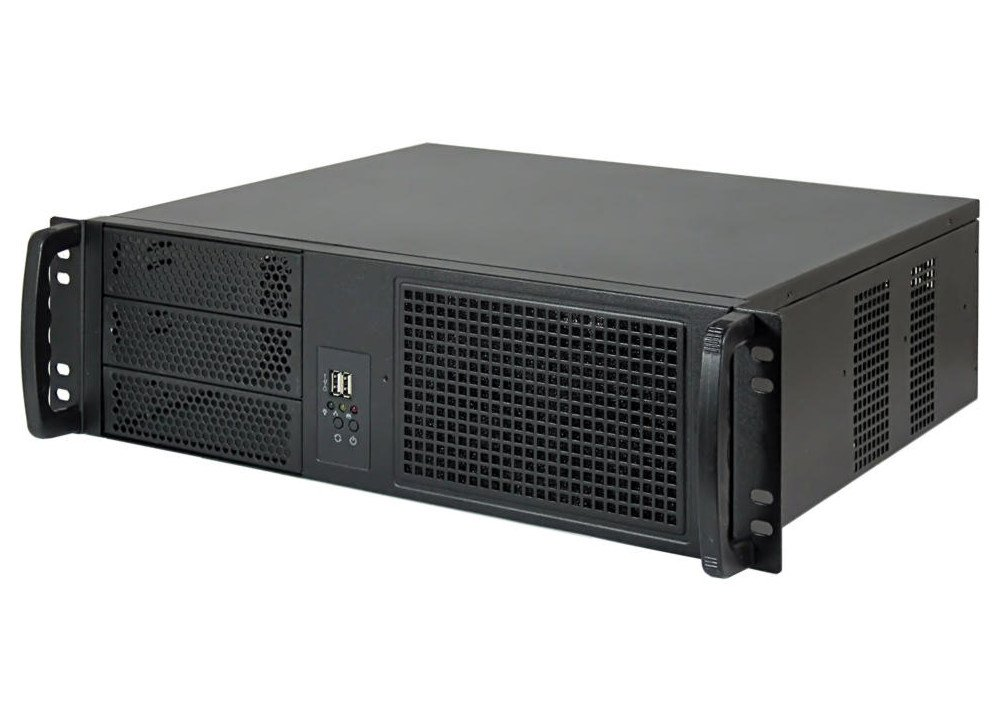 19' Server Gehä use 3HE / 3U - IPC-C338 - nur 38cm tief yakkaroo