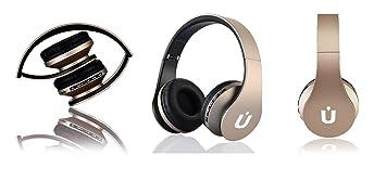 Ziu Smart Items - Auriculares Bluetooth inalámbricos, cancelación de Ruido, micrófono Incorporado, Radio