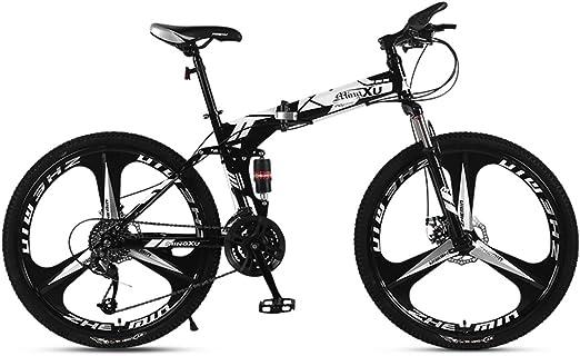 Dapang Bicicleta de montaña 21/24/27 Velocidad Marco de Acero 24 ...