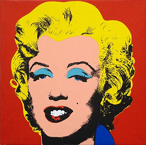 Andy Warhol Giclee Canvas Print Paintings Poster Reproduction (Marilyn Monroe)