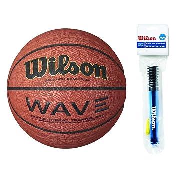 Wilson Solution Game - Balón de baloncesto oficial con 6