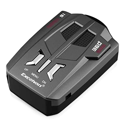 Car Trucker Speed V9 Radar Detector Voice Alert Warning 16 Band Auto 360 Degrees