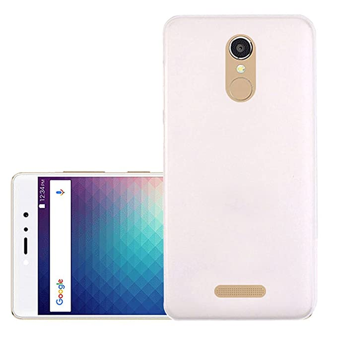 official photos dd0ed 15f9b Hi5Gadget ZLDECO Slim Soft Case Protective for BLU VIVO 5R Refresh  Smartphone (White)