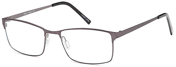 247685bfe7e3 Amazon.com  DALIX Mens Rectangular Light Weight Prescription Frames 56-18- 140 (Black Blue)  Clothing