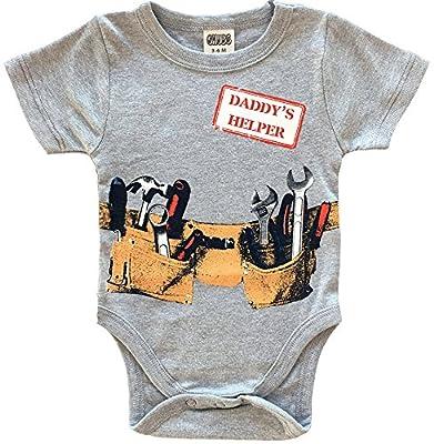 DADDY'S HELPER Bodysuit For Boy & Unique Baby Shower Gift For Boy