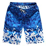 EOWEO Shorts Pants,2019 anniversary celebration Mens Shorts Swim Trunks Quick Dry Beach Surfing Running Swimming Water Pants
