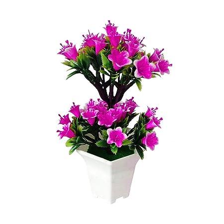 1 Maceta de Flores Artificiales de Lilium Casa Blanca, para Bodas ...