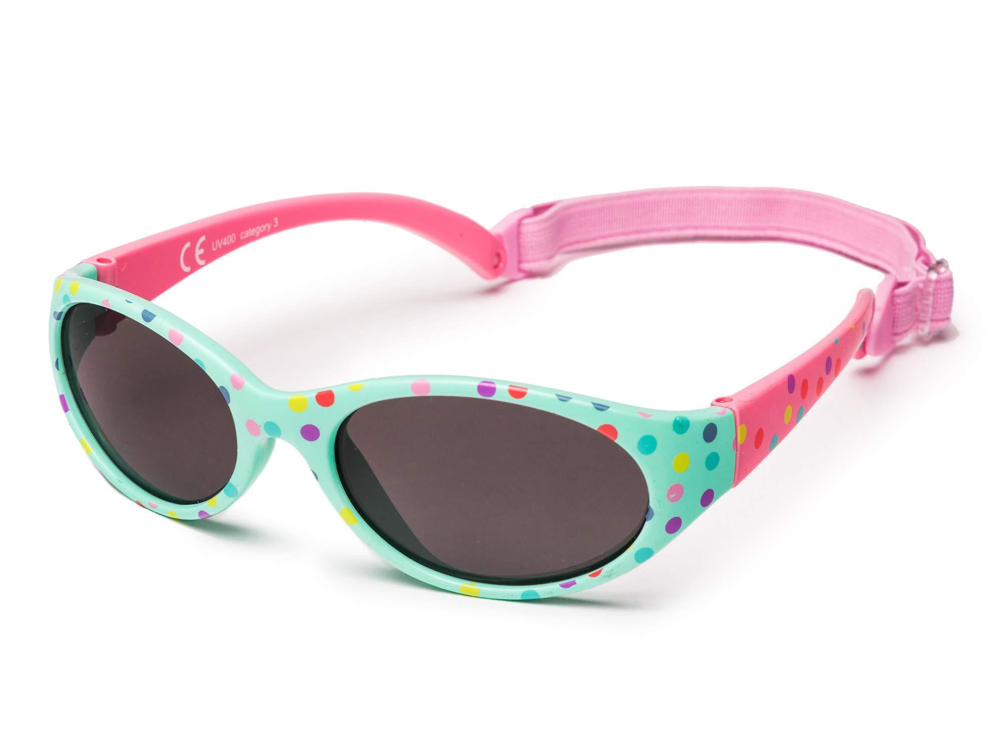 31d20fb028 Kiddus Gafas de sol para niña niño entre 2 y 6 años, hecho de goma  TOTALMENTE FLEXIBLES, 100% protección rayos UVA y UVB, seguras,  confortables y muy ...